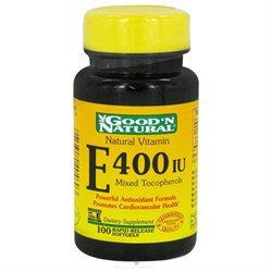 Good 'N Natural - Vitamin E 400 IU - 100 Softgels