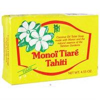 Monoi Tiare Tahiti Coconut Oil Soap - Gardenia (Tiare)