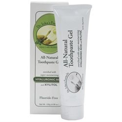 Hyalogic - Dr. John's Formula All-Natural Toothpaste Gel with Hyaluronic Acid - 4.58 oz.