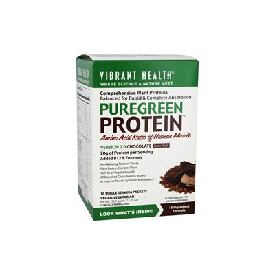 Vibrant Health PureGreen Protein Chocolate