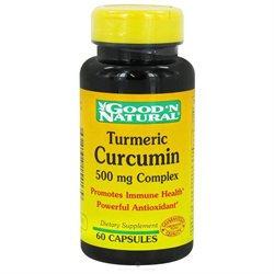 Good 'N Natural - Turmeric Curcumin 500 mg. - 60 Capsules