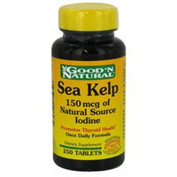Good 'N Natural - Sea Kelp 150 mcg of Natural Source Iodine - 250 Tablets