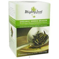 Mighty Leaf Organic Green Dragon Tea - 15 Tea Bags