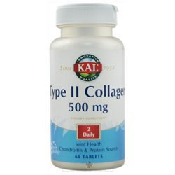 Kal Type II Collagen - 500 mg - 60 Tablets