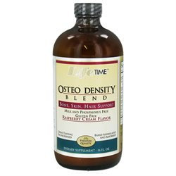 LifeTime Vitamins - Osteo Density Blend Raspberry Cream - 16 oz.