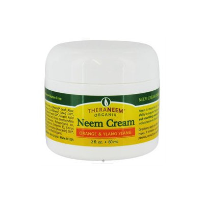 Organix South - TheraNeem Organix Neem Cream Orange & Ylang Ylang - 2 oz.