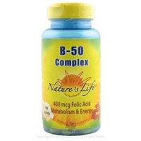Nature's Life B-Complex - 50 mg - 100 Tablets