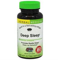 Herbs Etc - Deep Sleep Alcohol Free - 60 Softgels Contains California Poppy