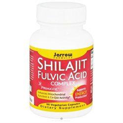 Jarrow Formulas Shilajit Fulvic Acid Complex, Veggie Caps