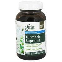 Gaia Herbs - Turmeric Supreme Liquid Phyto Caps - 120 Vegetarian Capsules