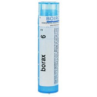 Boiron Borax 6c 6C - 80 Pellets - Other Homeopathics
