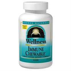 Source Naturals Wellness Immune Chewable Berry - 60 Chewable Wafers