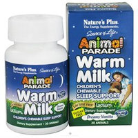 Nature's Plus - Animal Parade Warm Milk Dreamy Vanilla - 30 Chewable Tablets
