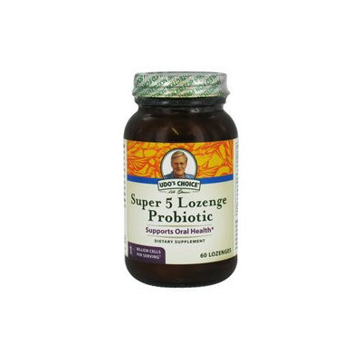 Flora - Udo's Choice Super 5 Lozenge Probiotic - 60 Lozenges