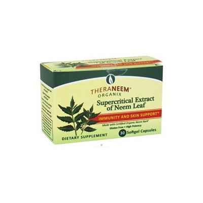 Organix South TheraNeem Supercritical Extract of Neem Leaf - 30 Softgel Capsules