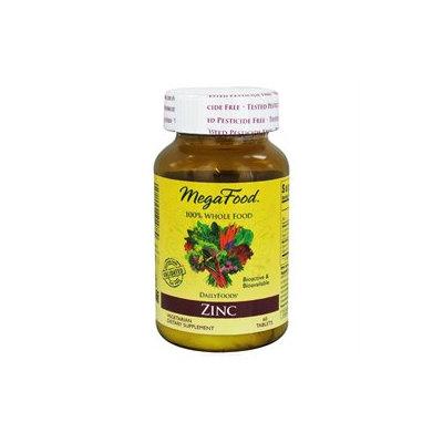 MegaFood - DailyFoods Zinc Bioactive & Bioavailable - 60 Vegetarian Tablets