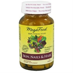 MegaFood - DailyFoods Skin Nails & Hair - 60 Vegetarian Tablets