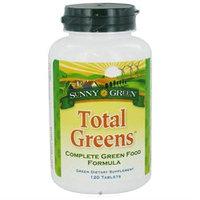 Solaray Total Greens Sunny Green 120 Tabs
