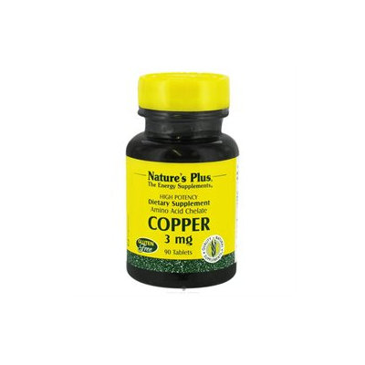 Copper 3 mg 90 Tablets from Nature's Plus