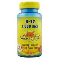 Nature's Life Vitamin B-12 - 1000 mcg - 100 Tablets
