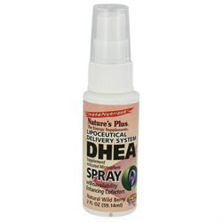 Nature's Plus DHEA Spray Natural Wild Berry - 2 fl oz