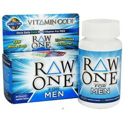 Garden of Life Raw One Multivitamin For Men - 30 Vegetarian Capsules
