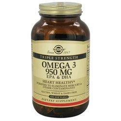 Solgar Omega-3 EPA and DHA - 950 mg - 100 Softgels