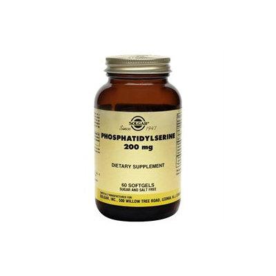 Solgar - Phosphatidylserine 200 mg. - 60 Softgels