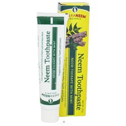 Organix South - TheraNeem Neem Toothpaste Mint - 15 Grams
