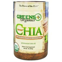 Greens Plus Organic Omega-3 Chia Seeds - 1 lb