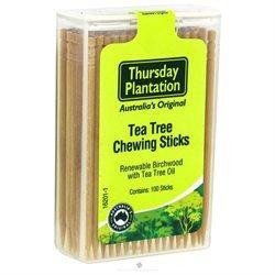 Thursday Plantation - The Original Australian Tea Tree Chewing Sticks - 100 Sticks