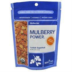 Navitas Naturals Organic Mulberries - 4 oz - Vegan