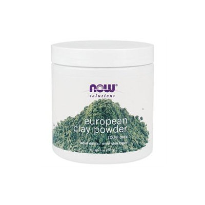NOW Foods Solutions European Clay Powder - 6 oz