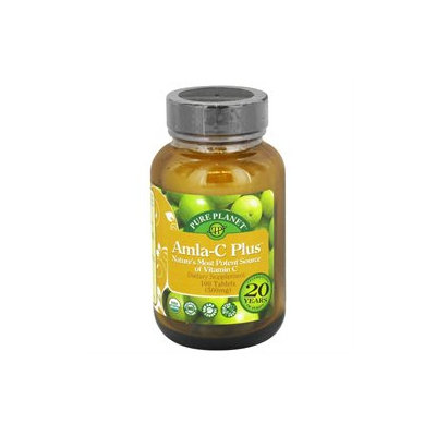 Pure Planet - Amla-C Plus Organic Vitamin C 500 mg. - 100 Tablets