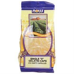NOW Foods - Gelatin Caps Single