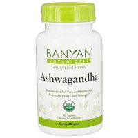 Banyan Botanicals - Organic Ashwagandha 500 mg. - 90 Tablets