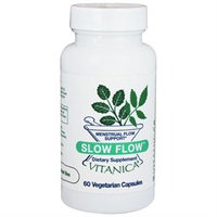 Vitanica Slow Flow Menstrual Flow Support, Veggie Caps, 60 ea