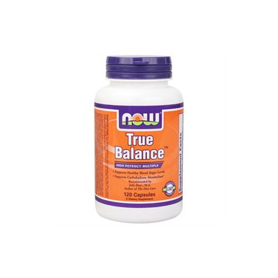 NOW Foods - True Balance High Potency Multiple - 120 Capsules