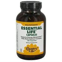 Essential Life 120 Vcap By Country Life Vitamins (1 Each)