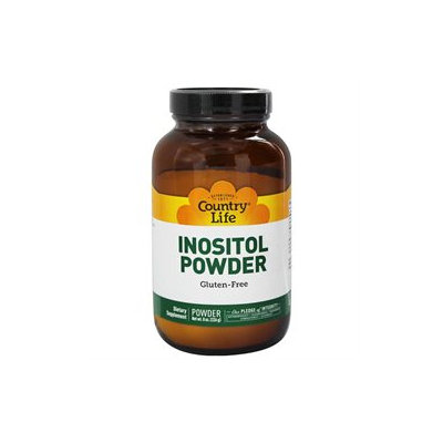 Inositol Crystals Powder 8 Oz By Country Life Vitamins (1 Each)