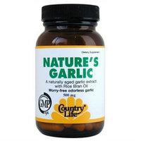 Country Life Nature'S Garlic - 180 Softgels - Garlic