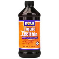 NOW Foods - Liquid Lecithin Natural Phosholipid - 16 oz.