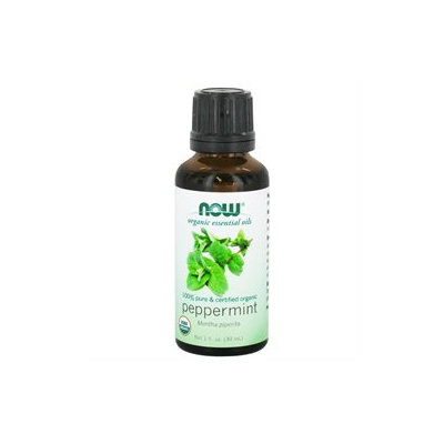 NOW Foods - Peppermint Oil Organic - 1 oz.