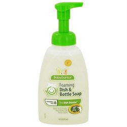BabyGanics Dish Dazzler Foaming Dish & Bottle Soap - Fragrance Free