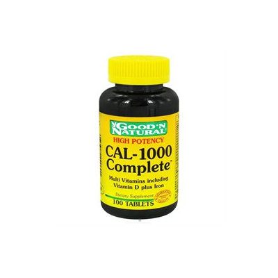 Good 'N Natural - CAL-1000 Complete Calcium and Multivitamins plus Iron - 100 Tablets