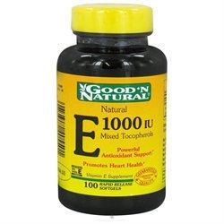 Good 'N Natural - Natural Vitamin E Mixed Tocopherols 1000 IU - 100 Softgels