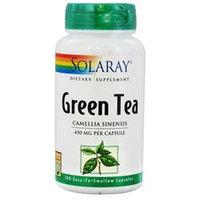 Solaray - Green Tea 450 mg. - 100 Capsules