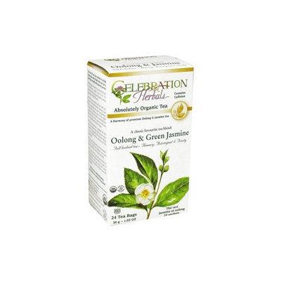 Celebration Herbals Organic Oolong and Green Jasmine Tea - 24 Herbal Tea Bags