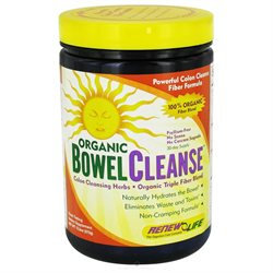 Renew Life Organic Bowel Cleanse Powder - 13.3 oz