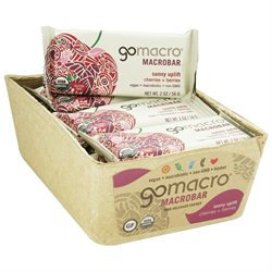 GoMacro - MacroBar Sunny Uplift Cherries & Berries - 2 oz.